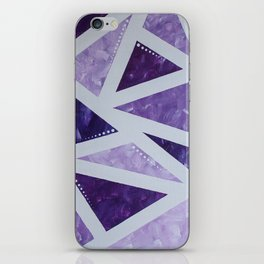 Purple Mosaic iPhone Skin
