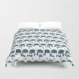 Let's Go to the Market! – Xmas Edition Duvet Cover