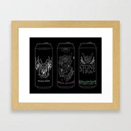 triple ipa Framed Art Print
