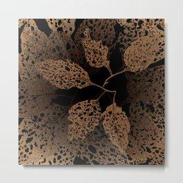 brown autumn Metal Print