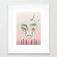 cinderella Framed Art Prints featuring Cinderella by Kayleigh Day