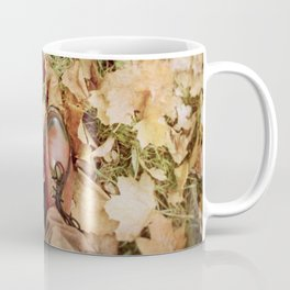 Shoes And Leaves Coffee Mug