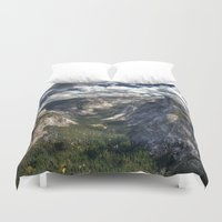 yosemite Duvet Covers featuring Yosemite National Park by Spyck