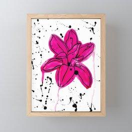 Magnolia Framed Mini Art Print