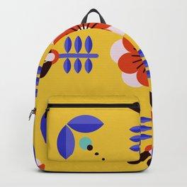 Flower Modern Decoration Backpack