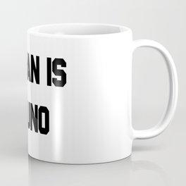 MUSCLE MAN IS NUMERO UNO - Regular Show Coffee Mug