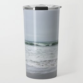 Grey Beach Travel Mug