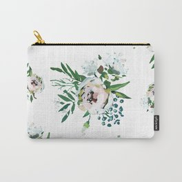 Blush Floral Carry-All Pouch