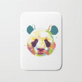 Panda Colorful Varation Bath Mat