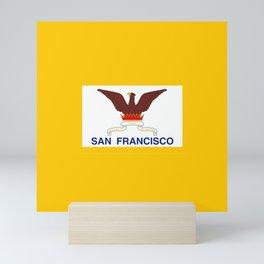 Flag of San Francisco Mini Art Print