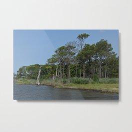Ocean City, Maryland Series - Bayside Metal Print