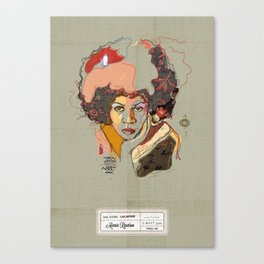 Minnie Riperton - Soul Sister | Soul Brother Canvas Print