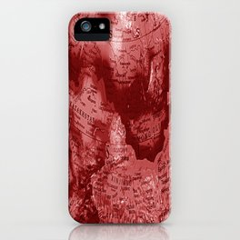 Russia in Red iPhone Case