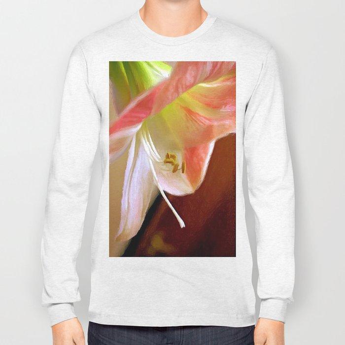 Amaryllis in Oils Long Sleeve T-shirt