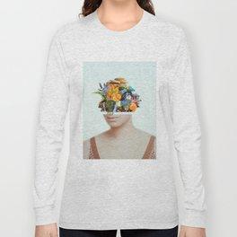 Natural Streissand Long Sleeve T-shirt