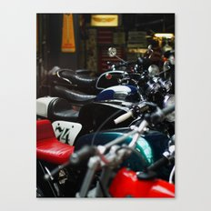 Motorcycles Canvas Print