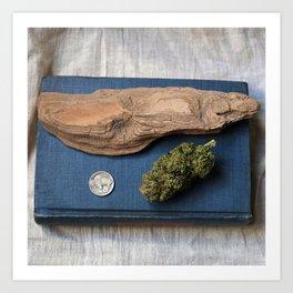 High-O-Rama Series: Driftwood Art Print