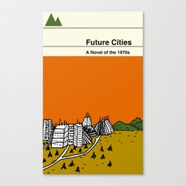 Future Cities Canvas Print