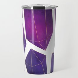 Watercolor Crystals Travel Mug