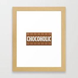 Chocoholic Framed Art Print
