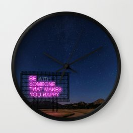 Daily Reminders by K no.02 Wall Clock