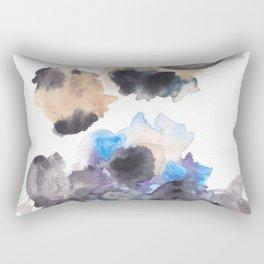 170714 Abstract Watercolour Play 10 |Modern Watercolor Art | Abstract Watercolors Rectangular Pillow