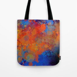 Blue Invasion  Tote Bag