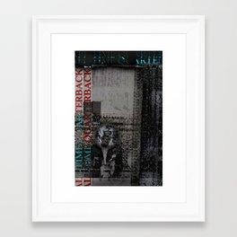All Time Quarter Back Framed Art Print