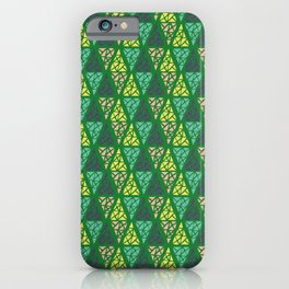Low Green iPhone Case