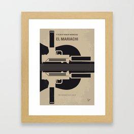 No445 My El mariachi mmp Framed Art Print