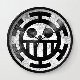 One Piece Trafalgar Law logo Wall Clock