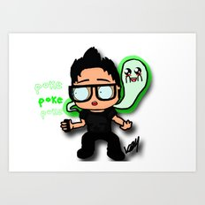when I die i'm going on ghost adventures Art Print