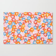 Morning Glory - Pink Multi Canvas Print