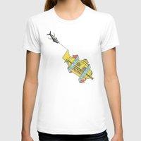 steve zissou T-shirts featuring This Is An Adventure | The Life Aquatic with Steve Zissou by Scott Erickson