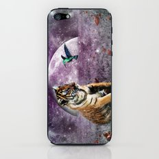 Tiger and Hummingbird iPhone & iPod Skin