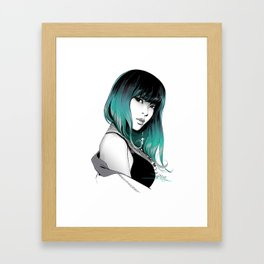 jiyoon Framed Art Print