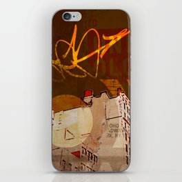 NYC Rooftops iPhone Skin