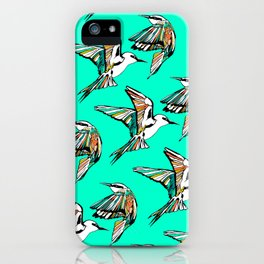 Dancing Rainbow Bee Eater Birds iPhone Case