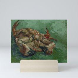 Crab on its Back Mini Art Print