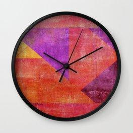 """Moksha"" Inspired by the Guillermo de Llera music. Wall Clock"