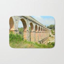 Ancient Roman Aqueduct Bath Mat