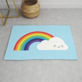 Kawaii Rainbow Rug