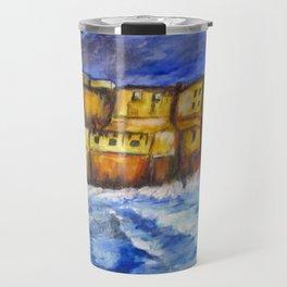 Stormy Castle dell'Ovo, Napoli Travel Mug