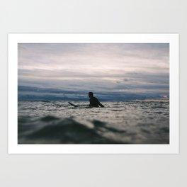 Ocean Surf IIII Art Print