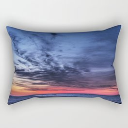 Just Before Sunrise Rectangular Pillow