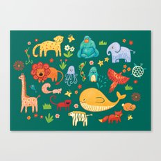 Animals Canvas Print
