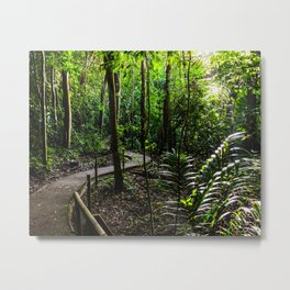 Jungle Green Metal Print