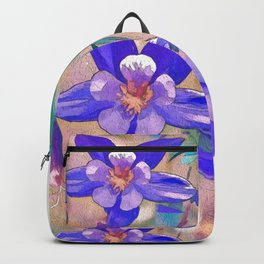 Colorado State Flower Backpack
