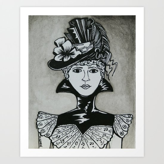 Chastity Art Print