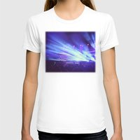 concert T-shirts featuring Concert Lights by Tyler Shaffer